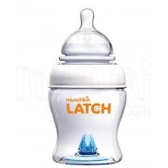 شیشه شیرطلقی ضدنفخ 118میل مانچکین Munchkin