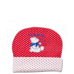 خريد اينترنتي سيسموني نوزاد کلاه خالدار خرسی لاکی بی بی Lucky Baby نوزادی، نی نی لازم فروشگاه اینترنتی سیسمونی