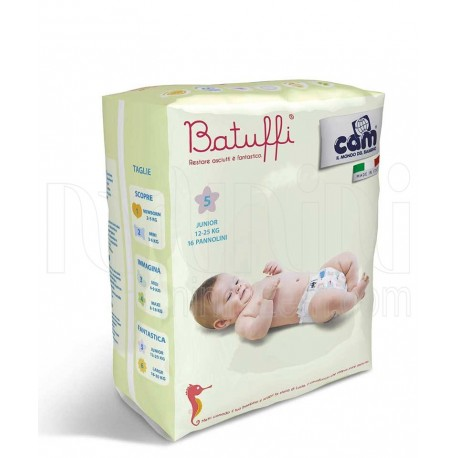 خرید پوشک بچه کم 12تا25 کیلو گرم (سایز5) Cam نوزادی، نی نی لازم فروشگاه اینترنتی سیسمونی