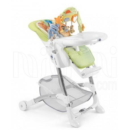 صندلی غذا خوری آویز دار کودک طرح خرس رنگ سبز برند کم Cam