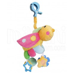 خريد اينترنتي سيسموني نوزاد آویز عروسک جغجغه ای زنبور رنگی  بیبی میکس Baby Mix نوزادی، نی نی لازم فروشگاه اینترنتی سیسمونی