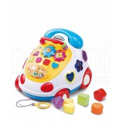 خريد اينترنتي سيسموني نوزاد تلفن موزیکال آموزشی بیبی میکس Baby Mix نوزادی، نی نی لازم فروشگاه اینترنتی سیسمونی