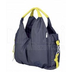 خرید کیف حمل وسایل مادر و نوزاد مدل green label denim blueبرند لیسیگ LAESSIG نوزادی، نی نی لازم فروشگاه اینترنتی سیسمونی