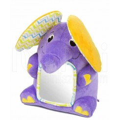 خريد اينترنتي سيسموني نوزاد عروسک سوتی پولیشی فیل آیینه دار سامر Summer نوزادی، نی نی لازم فروشگاه اینترنتی سیسمونی