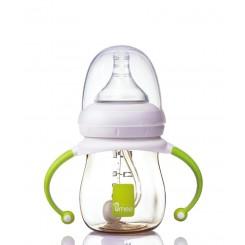 خريد اينترنتي سيسموني نوزاد شیشه شیر طلقی ضد نفخ 160 میل یومه Umee نوزادی، نی نی لازم فروشگاه اینترنتی سیسمونی