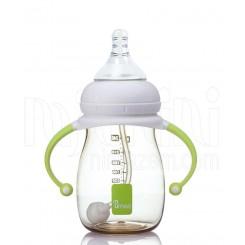 خريد اينترنتي سيسموني نوزاد شیشه شیر طلقی ضدنفخ 260 میل یومه Umee نوزادی، نی نی لازم فروشگاه اینترنتی سیسمونی
