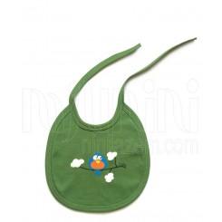 پیشبند نوزادی سبز جنگل و ابر لیدولند