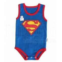 لباس زیردکمه دار آستین رکابی پسرانه طرح سوپرمن تاپ لاین Topline