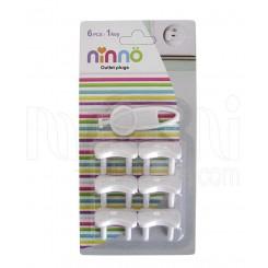 خرید محافظ پریز برق کودک outlet plugs نینو Ninno  نوزادی، نی نی لازم فروشگاه اینترنتی سیسمونی
