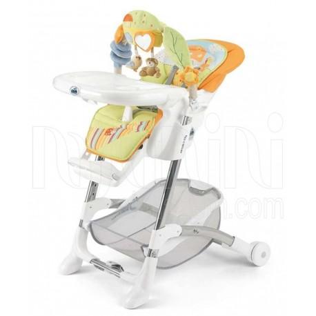 خرید صندلی غذاخوری کودک آویزدار طرح قارچ برند کم CAM  نوزادی، نی نی لازم فروشگاه اینترنتی سیسمونی