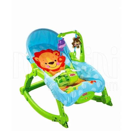 نی نی لای لای ویبره و تاشو سبز فیشرپرایس Fisher Price