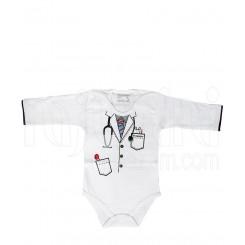 خرید زیرپوش بچه زیردکمه دار آستین بلند دکتری دولو Davaloo نوزادی، نی نی لازم فروشگاه اینترنتی سیسمونی