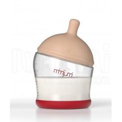 خريد اينترنتي سيسموني نوزاد شیشه شیر طلقی میمی جومی 120 میل MimiJumi نوزادی، نی نی لازم فروشگاه اینترنتی سیسمونی