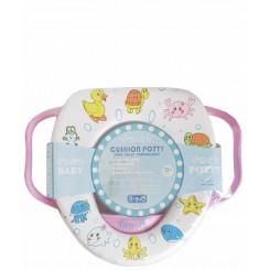 خريد اينترنتي سيسموني نوزاد تبدیل توالت فرنگی آموزشی دخترانه براوو Bravo نوزادی، نی نی لازم فروشگاه اینترنتی سیسمونی