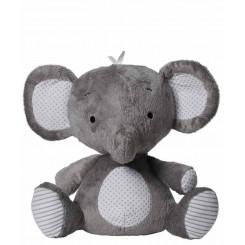 خريد اينترنتي سيسموني نوزاد فیل پلیشی خاکستری پلی گرو Playgro نوزادی، نی نی لازم فروشگاه اینترنتی سیسمونی