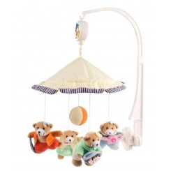 آویز تخت نوزاد موزیکال طرح خرس کانپول بی بی Canpol babies