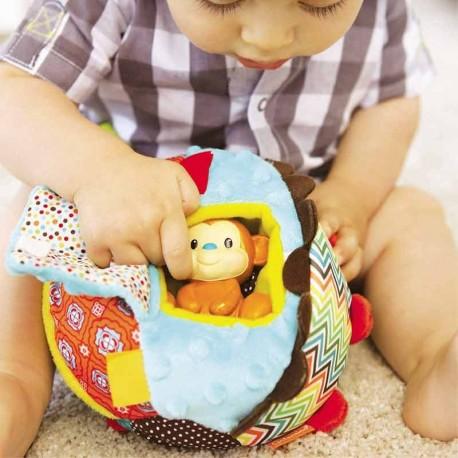 اسباب بازی توپ آموزشی و میمون اینفنتینو Infantino
