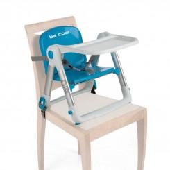 خريد اينترنتي سيسموني نوزاد صندلی غذای تاشو آبی مدل DIP بی کول Be Cool نوزادی، نی نی لازم فروشگاه اینترنتی سیسمونی
