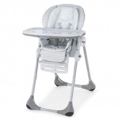 صندلی غذاخوری کودک چیکو رنگ توسی  Chicco Polaris