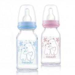 خريد اينترنتي سيسموني نوزاد شیشه شیر پیرکس ب ب دور 125 میل Bebedor نوزادی، نی نی لازم فروشگاه اینترنتی سیسمونی