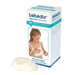 خريد اينترنتي سيسموني نوزاد پد سینه 40 عددی ب ب دور Bebedor نوزادی، نی نی لازم فروشگاه اینترنتی سیسمونی