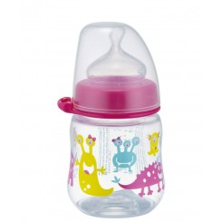 شیشه شیر طلقی کپل دخترانه نیپ Nip