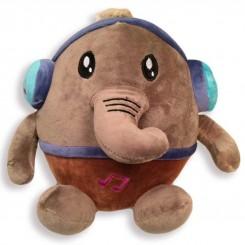 خريد اينترنتي سيسموني نوزاد عروسک پولیشی کودک فیل هدفون دار نوزادی، نی نی لازم فروشگاه اینترنتی سیسمونی