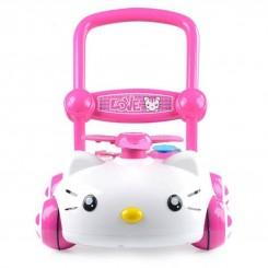خريد اينترنتي سيسموني نوزاد واکر کودک هلو کیتی Hello Kitty نوزادی، نی نی لازم فروشگاه اینترنتی سیسمونی