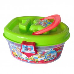 خريد اينترنتي سيسموني نوزاد لگو ساخت اسباب بازی هیو جی بلوک Huijie نوزادی، نی نی لازم فروشگاه اینترنتی سیسمونی